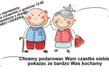 Dzień Babci i Dziadka  styczeń 2018r.